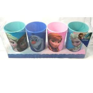 Disney Frozen-4 Pack Lenticular Cup Set